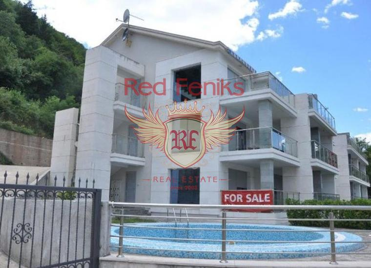 Квартира на первой линии, Столив, 2 спальни, Квартира в Столив Черногория