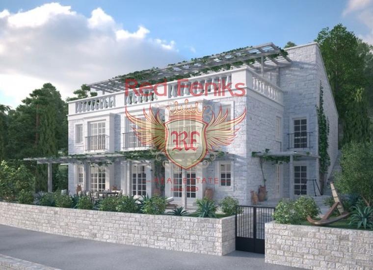 Участок в Прчань с проектом о оплаченным разрешением на строительство, Участок Прчань Черногория