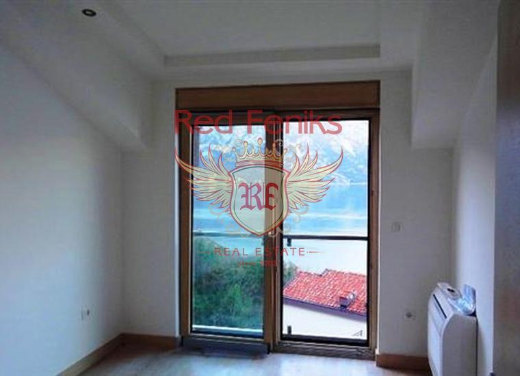 Отличная квартира в элитном комплексе на берегу моря, Костаница, Квартира в Которский залив Черногория
