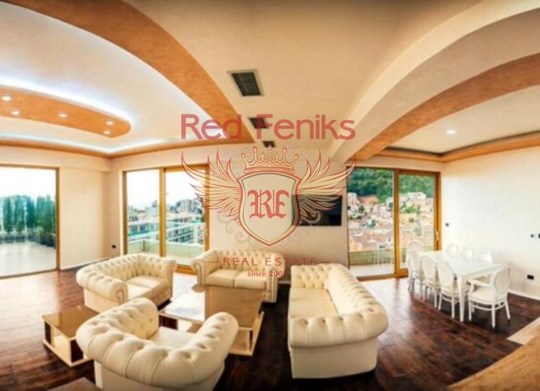 Пентхаус в новом апарт-отеле, Черногория, купить квартиру в Будва