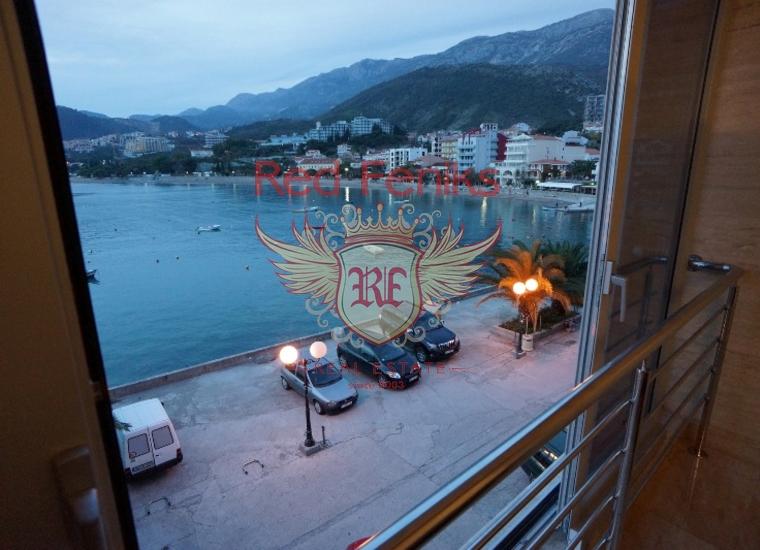 Квартира на первой линии в Рафаиловичах, Черногория, купить квартиру в Рафаиловичи