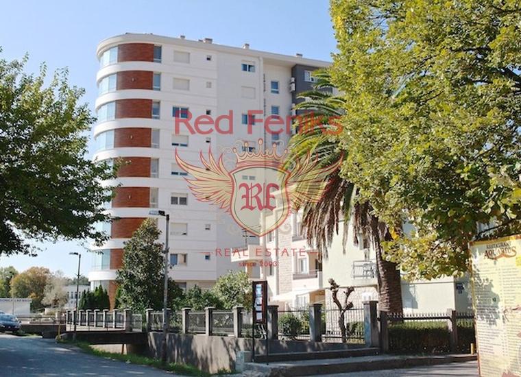 Квартира с двумя спальнями на 1 линии в Будве, Черногория, Квартира в Будва Черногория