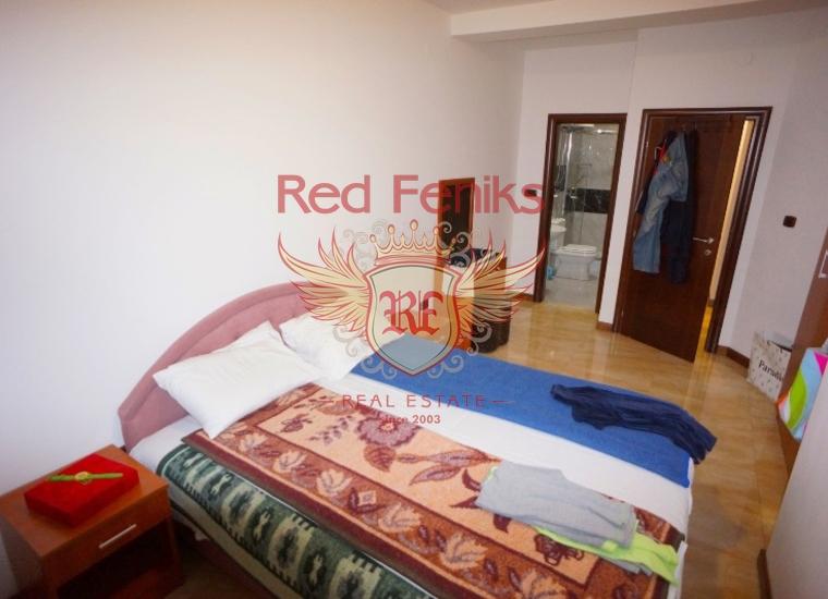 Квартира на первой линии в Рафаиловичах, Черногория, Квартира в Регион Будва Черногория