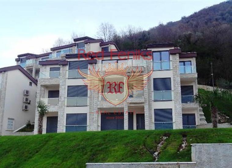 Отличная квартира в элитном комплексе на берегу моря, Костаница, Квартира в Костаница Черногория