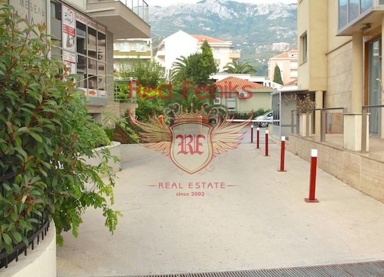 Квартира с двумя спальнями на 1 линии в Будве, Черногория, купить квартиру в Будва