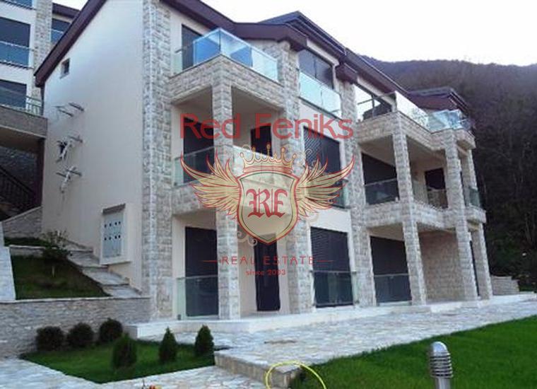 Отличная квартира в элитном комплексе на берегу моря, Костаница, купить квартиру в Которский залив