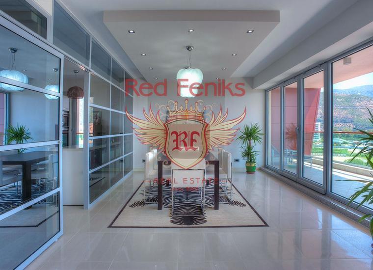 Роскошная видовая квартира в центре Будве, купить квартиру в Регион Будва