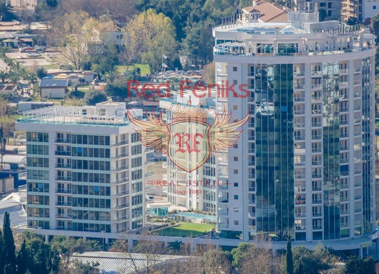 Четырехкомнатная квартира в Будве на первой линии, купить квартиру в Будва