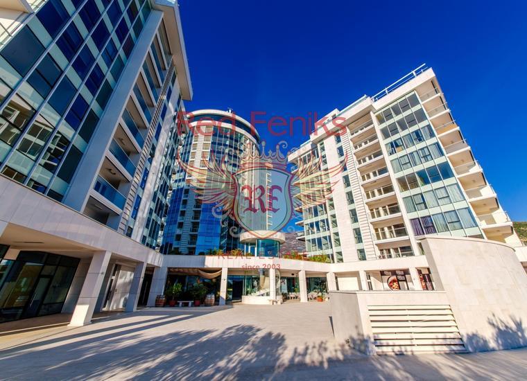 Продается двухкомнатная квартира в Будве в отельном комплексе.