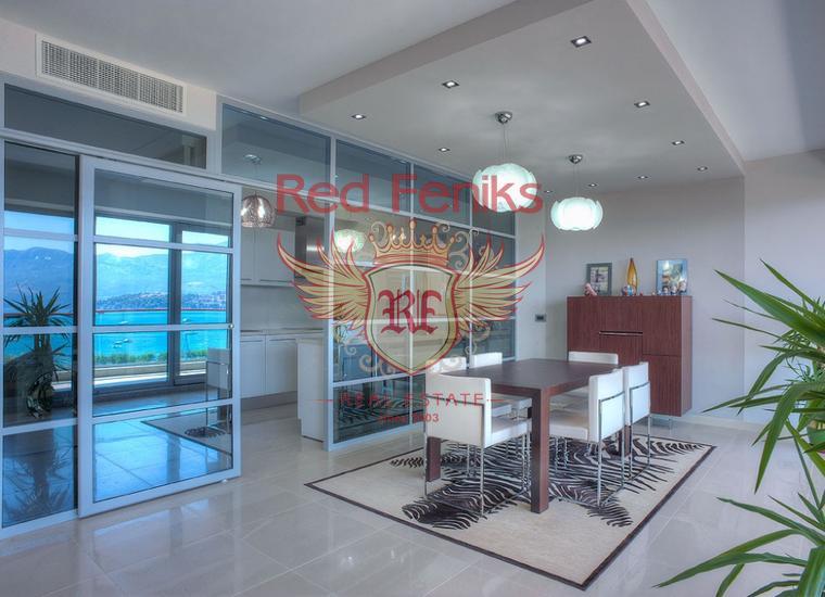 Роскошная видовая квартира в центре Будве, Квартира в Регион Будва Черногория