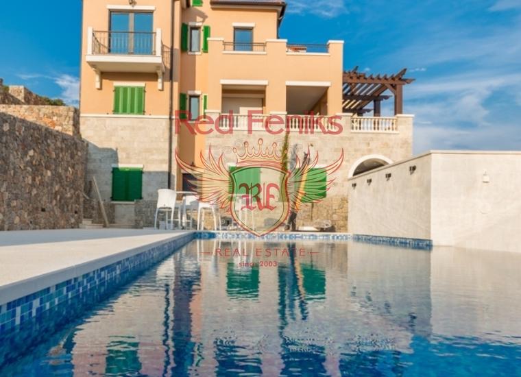 Великолепные апартаменты в уникальном эко-комплексе на Луштице, Квартира в Жанице Черногория