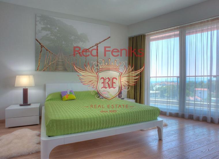 Роскошная видовая квартира в центре Будве, Квартира в Будва Черногория