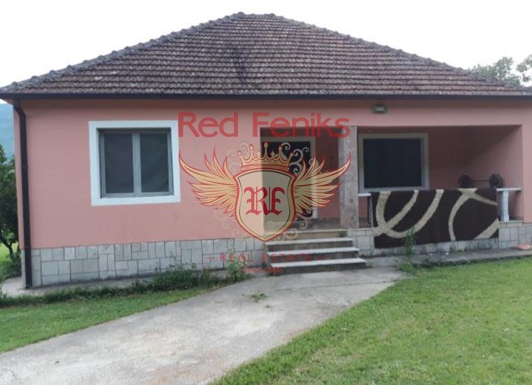 Дом на продажу с большим участком земли в Даниловграде, Вилла в Даниловград Черногория