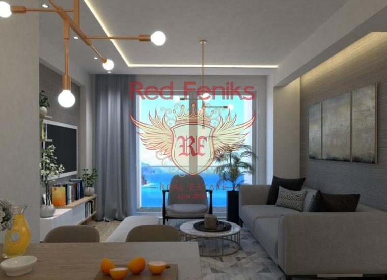 Высококачественные Aпартаменты в Бечичи, купить квартиру в Регион Будва