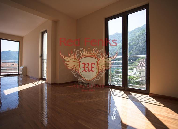 Новый апарт-отель в Рисане на первой линии, Дом в Которский залив Черногория