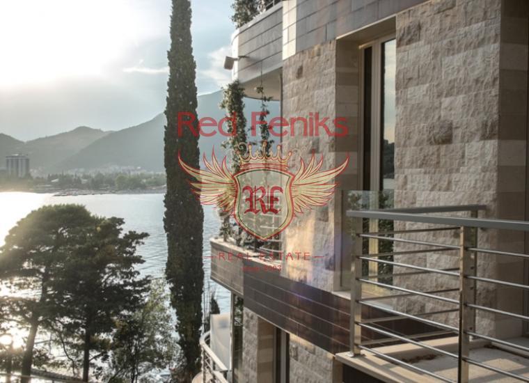 Панорамная квартира на берегу моря в Будве, купить квартиру в Регион Будва
