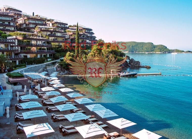 Панорамная квартира на берегу моря в Будве, Квартира в Регион Будва Черногория