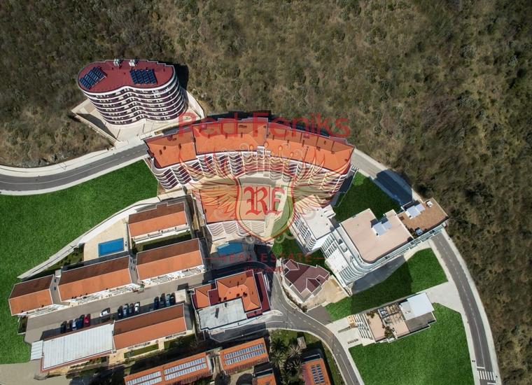 Новый жилой комплекс в Бечичах, Квартира в Регион Будва Черногория