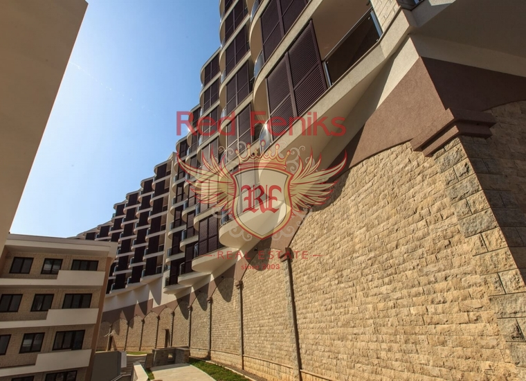 Новый жилой комплекс в Бечичах, Квартира в Бечичи Черногория