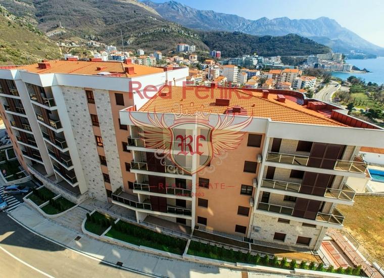 Новый жилой комплекс в Бечичах, купить квартиру в Бечичи