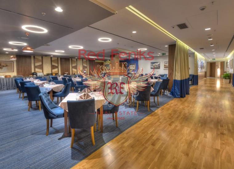 Коммерческое помещение в отеле 4* в центре Будвы, купить коммерческую недвижимость в Регион Будва