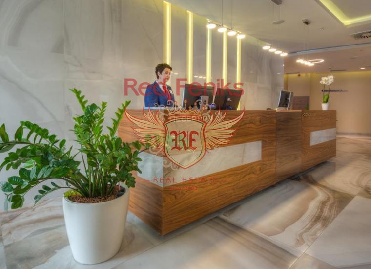 Коммерческое помещение в отеле 4* в центре Будвы, купить коммерческую в Будва