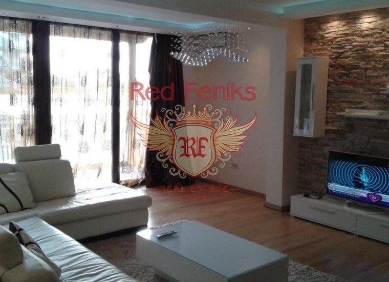 Трехкомнатная квартира в Пржно., Квартира в Будва Черногория