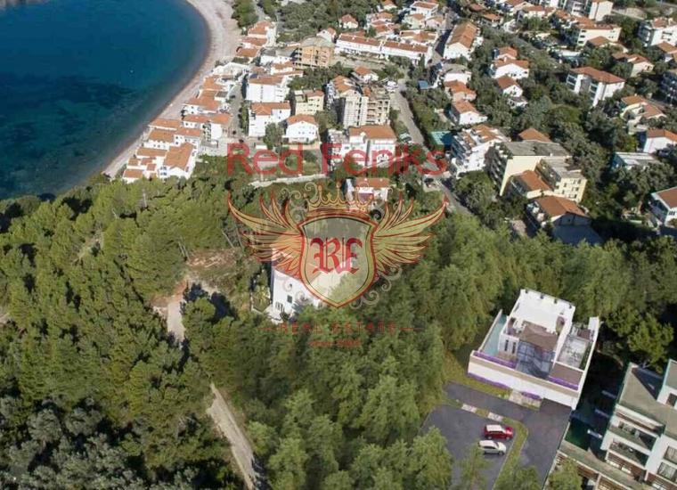 Современная вилла в сосновом бору с видом на море и Святой Стефан, Дом в Регион Будва Черногория