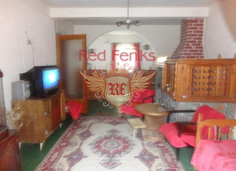 Уютный дом на первой линии поселка Джурашевичи, Дом в п-ов Луштица Черногория