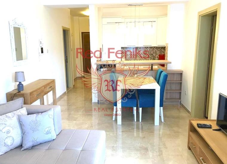 Трехкомнатная квартира в Бечичах, Квартира в Бечичи Черногория