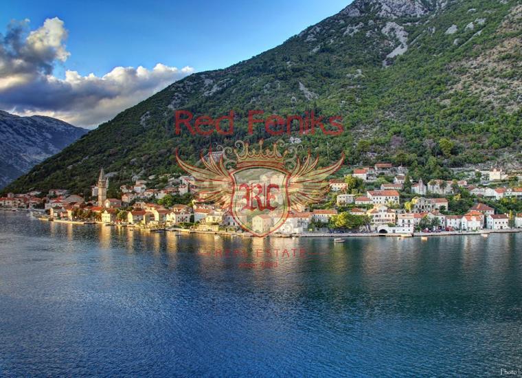 Участок под строительство в Доброте, Земля в Которский залив Черногория