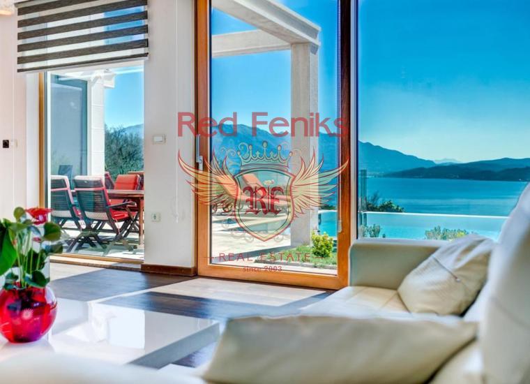 Великолепная вилла с Бассейном и видом на Море рядом с Порто Нови, купить дом в Херцег Нови