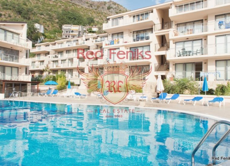 Квартира находится в одном из самых лучших комплексов в Черногории, в поселке Пржно.