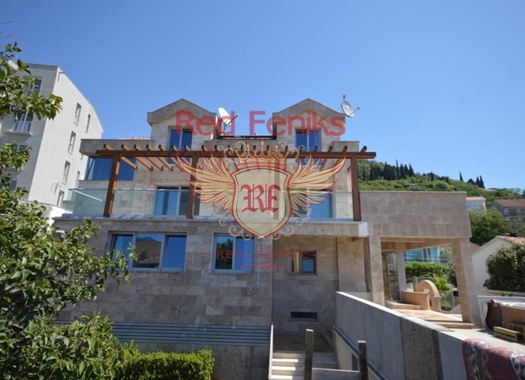 Вилла класса люкс, в Доньей Ластве, Тиват.