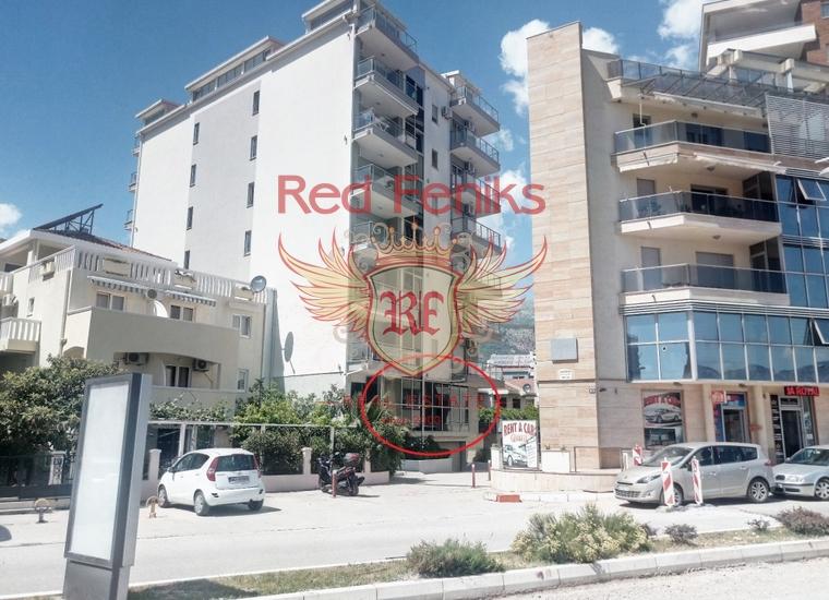 Коммерческие помещения на продажу в Будве, Черногория, Коммерческая недвижимость в Регион Будва Черногория