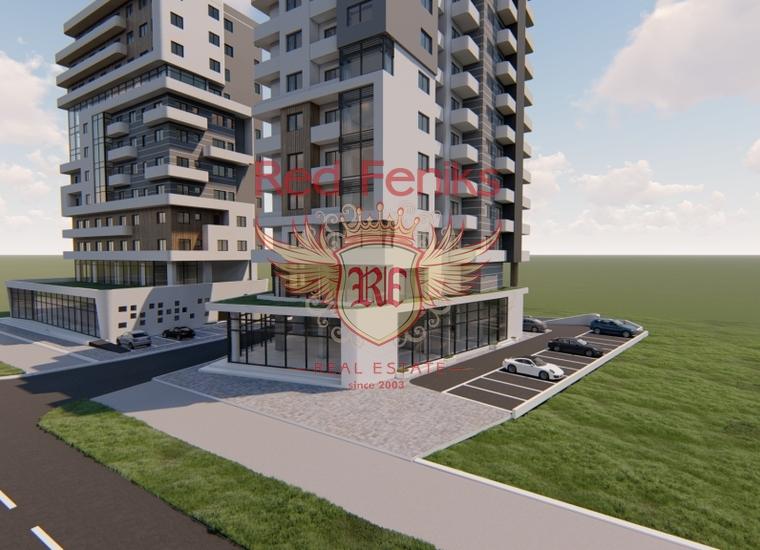 Квартиры в новом доме возле моря в Баре, купить квартиру в Бар