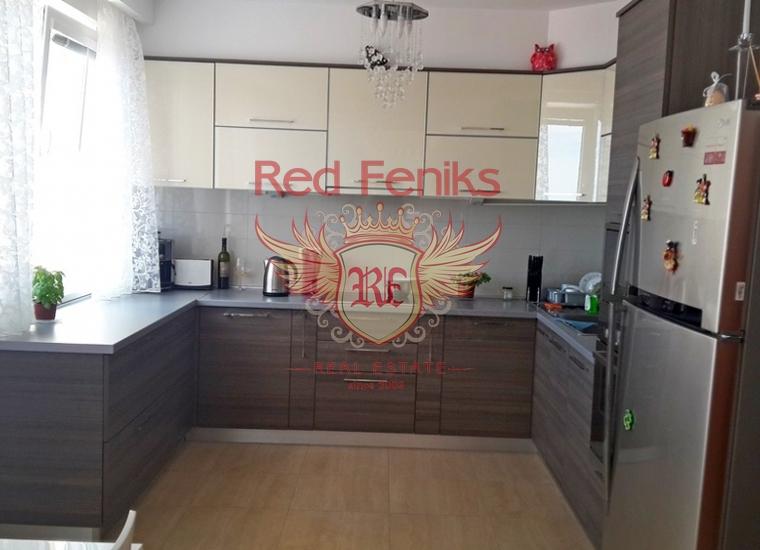 Четырехкомнатная квартира в Бечичах, купить квартиру в Регион Будва