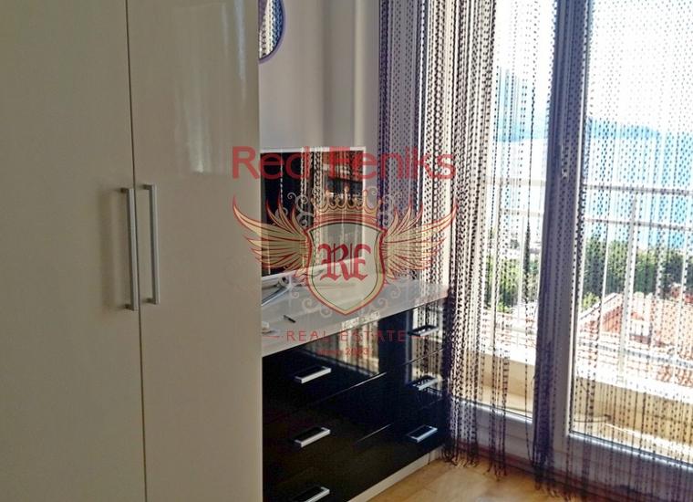 Четырехкомнатная квартира в Бечичах, Квартира в Регион Будва Черногория