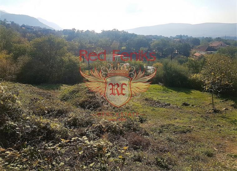 Урбанизированный участок с видом на море, купить землю в Регион Тиват