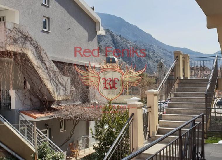 Просторная квартира с Видом на Старый Город Котор, Квартира в Котор Черногория
