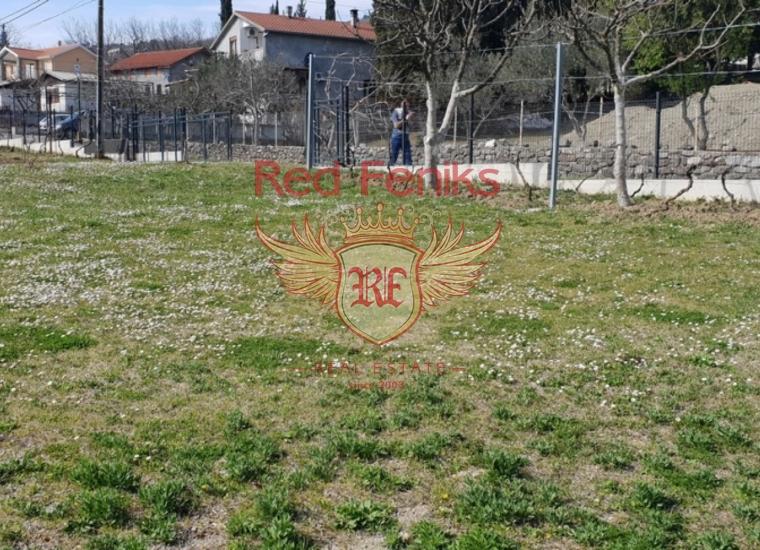 Урбанизированный Участок Рядом с Тиватом, Земля в Регион Тиват Черногория