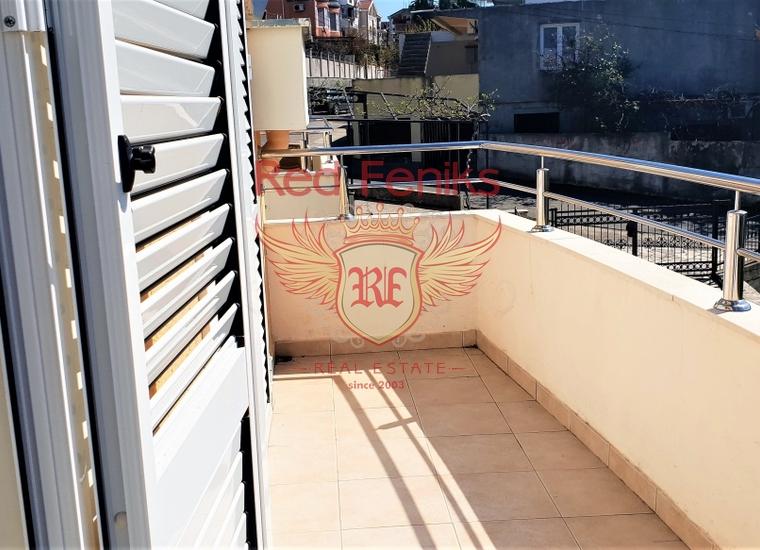 Квартира с одной спальней с видом на море рядом с Порто Нови, купить квартиру в Херцег Нови