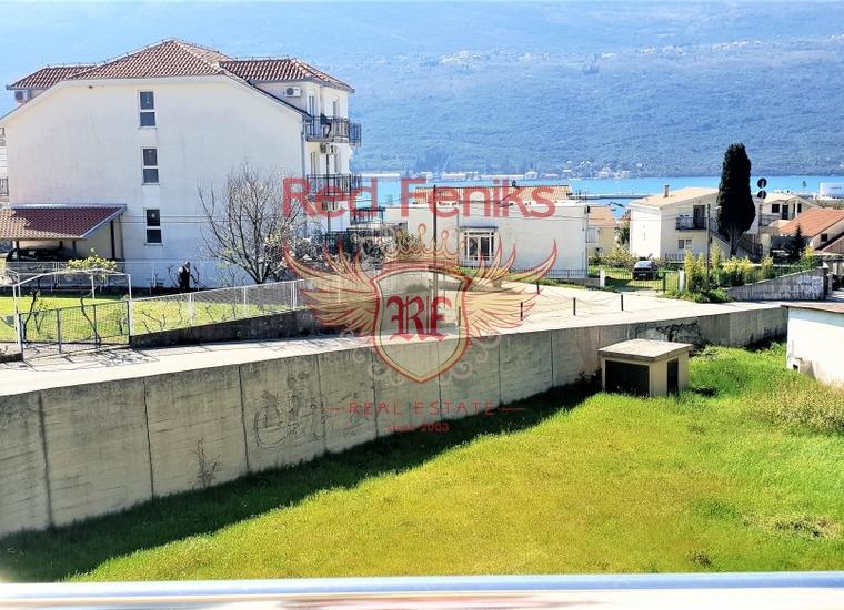 Квартира с одной спальней с видом на море рядом с Порто Нови, купить квартиру в Дженовичи