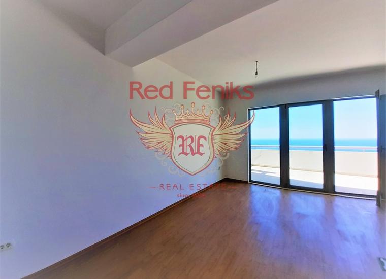 Новые квартиры с видом на море рядом с городом Бар, купить квартиру в Регион Бар и Ульцинь
