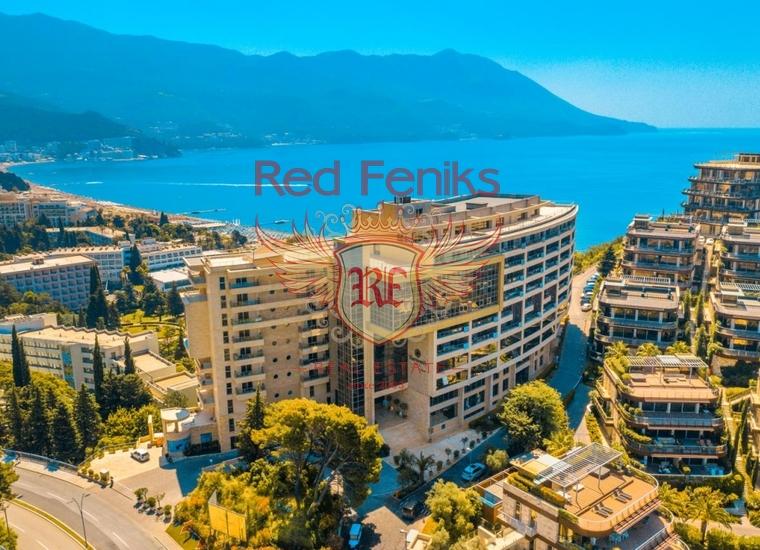 Продаются гостиничные резиденции в Черногории (Бечичи, Будва), Квартира в Бечичи Черногория