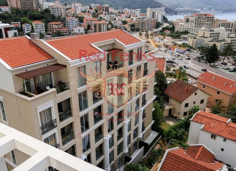 Продаются квартиры в новом здание в Бечичах.