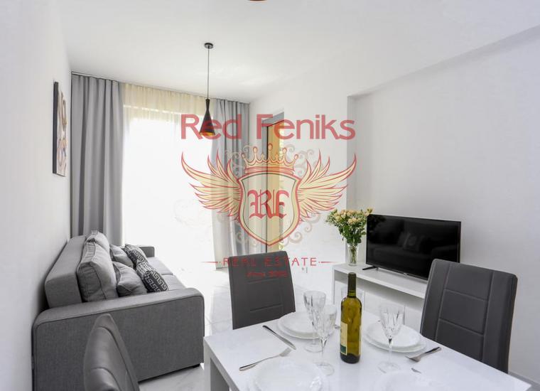 Новый жилой комплекс в Бечичах, купить квартиру в Регион Будва