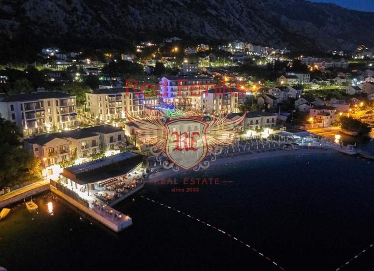 Квартира с видом на море и 2 спальнями в Доброте, Квартира в Доброта Черногория