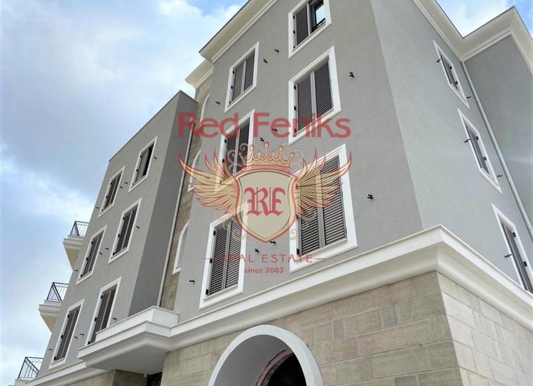 Квартира в новом здании в составе комплекса Порто Монтенегро, Квартира в Регион Тиват Черногория