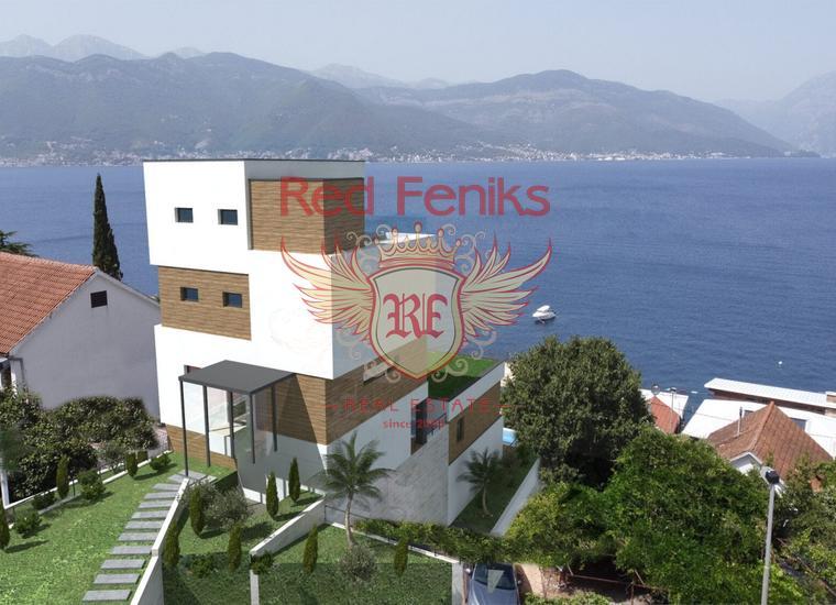Двухкомнатная квартира в Тивате, Доня Ластва, Квартира в Тиват Черногория